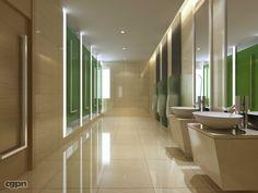 Public Restroom Design | Public Toilet 020 by Guamwork - Architecture & Interior - 3D Models at ...