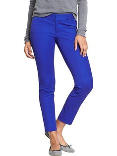 LINK : https://yroo.com/af/1446520/ruid/21327Old Navy Womens The Pixie Ankle Pants Size 2 Regular - Bluetiful | 28% OFF