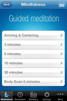 Do you want to find more balance in today's increasingly stressful existence?   The Mindfulness App is a tool for increasing your awareness in life. It helps you with the most difficult aspect of Mindfulness practice - namely to remember to be mindful.