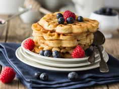 It's International Waffle Day and we have a damn good reason to munch on these delicious delights for breakfast, lunch and dinner! This world-renowned dish requires little effort to make, thanks to the readily available waffle iron. All you need is a good recipe to churn out hot waffles that will be the right mix of crispy on the outside and moist inside. Top it off with generous amounts of honey, a dollop of butter, some cream and a handful of fresh fruits to treat your loved ones to ...