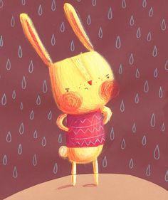 Illustration by Monika Filipina Trzpil: Children's Book Illustration MA Show!!!