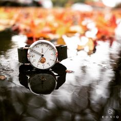 Take a short break and listen to the #rhythm of the falling #rain. . . #custom #customwatch #fall #autumn #autumnleaves #autumncolors #autumnweather #autumntime #autumnlove #rainyday #raindrops #wearyourstory  #custom #watch