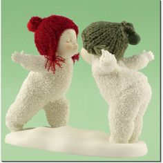 OMG i grew up collecting these little snowbabies