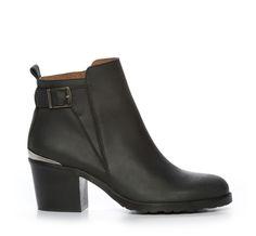 Nilson Shoes Kängor och Boots DEPECHE, SANDRA BUCKLE Nubuck Svart