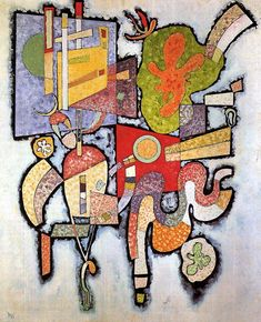 Wassily Kandinsky – Complex Simple, 1939