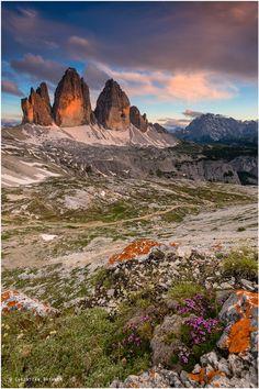 Photo Drei Zinnen - Dolomiti by Christian Bothner on 500px
