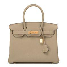 #Hermes #Birkin #Bag Sage Clemence Gold Hardware