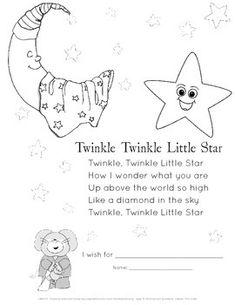 twinkle twinkle little star book pdf