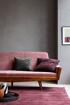 Ellos Home Sofa Vega 3-pers. - Rosa - Bolig & indretning - Ellos.dk