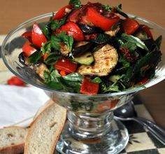 Grilled Tuscan Veg Salad