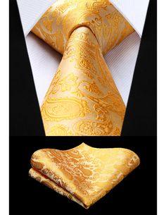 Groom Ties, Groom And Groomsmen, Country Attire, Gold Tie, Ties That Bind, Wedding Ties, Tie Set, Tie And Pocket Square, Groom Style