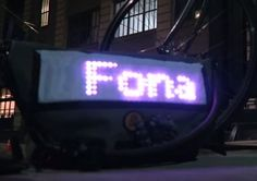 Want to make an SMS messenger bag using a flexible LED matrix? https://learn.adafruit.com/smssenger-bag
