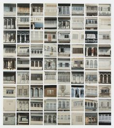 Sol LeWitt: Windows, Seventy-two chromogenic prints mounted on board. x (each image & sheet) x (mount). Image Sheet, Conceptual Art, Prints For Sale, Artwork Prints, Artsy, Windows, Gallery, Inspiration, Maths