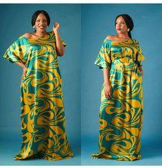 Save by Awuru African Prom Dresses, Latest African Fashion Dresses, African Inspired Fashion, African Print Fashion, African Attire, African Wear, African Dress, Trendy Ankara Styles, Ankara Gown Styles