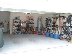 Garage organization motivation