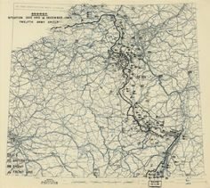 The Battle of the Bulge December: 16, 1944 to January 18, 1945 (World War II Military Situation Maps) | World War II Social Place