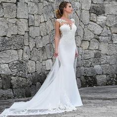 LORIE Mermaid Wedding Dresses Turkey 2019 Lace Appliques Bridal Dress Custom Made Wedding Gown vestidos de noiva Plus size . 💢 If You Need More Ideas 💢 click Picture ❗❗ . Wedding Dresses Under 100, Wedding Dresses Plus Size, Perfect Wedding Dress, White Wedding Dresses, Cheap Wedding Dress, Bridal Dresses, Wedding White, Fall Dresses, Dresses Elegant