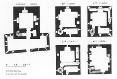Clara Castle, County Kilkenny, Ireland 15th Century, plan.jpg (645×437)