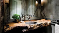 #IndustrialChic is an all-encompassing design style. It can include touches of rustic, traditional, shabby, primitive, modern, and more. It's flexible, simple, and timeless—  just like our Premium Designer Faucets. http://sonomaforge.com/