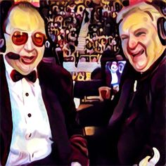 The greatest commentary pairing in wrestling history, Gorilla Monsoon & Bobby 'The Brain' Heenan