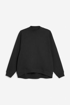 Monki Image 2 of Loose-fit sweater in Black