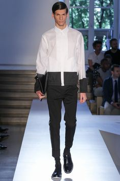 Beautiful and delicate Black outfit by Jil Sander 2014