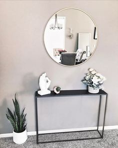 Serious obsession with plants & minimalistic home decor.  Decorated this empty wall in our dining/living room area recently and I love it!  < Shop my home decor with the @liketoknow.it app or by going to my Shop page on my blog. http://liketk.it/2r7O7 #liketkit #ltkhome >