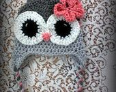Adult Size Owl Hat