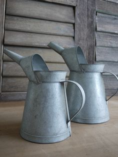 The Great Indoors » Galvanized Watering Can  /RM25 small, RM35 big