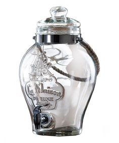 perfect for backyard bbq or parties , Loving this La Maison Beverage Dispenser on #zulily! #zulilyfinds
