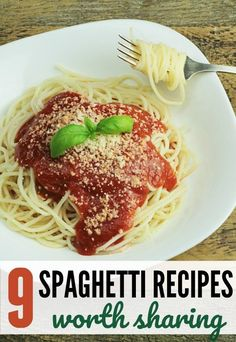 It's no surprise that family dinner night inspired by the newly released Lady and the Tramp will always include spaghetti! The movie that made spaghetti a family favorite is now on Blu-ray and I'm sharing 9 Spaghetti Recipes worth sharing! #spaghetti #spaghettinight #familydinners #easydinner #weeknight