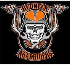 A motorcycle club logo I designed.