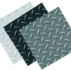 Diamond tread garage tiles are a favored design among auto enthusiasts. These tiles feature a classic racing look and match some popular garage storage cabinets. Garage Floor Finishes, Garage Floor Tiles, Bathroom Floor Tiles, Vinyl Garage Flooring, Recycled Mats, Garage Solutions, Diy Garage, Garage Ideas, Garage Room