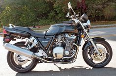 1994 Honda CB1000. This motorcycle was featured in the May 2014 issue of Rider magazine.
