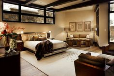 This is the most awesome basement bedroom!