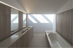 Contemporary Bathroom with tray sink  Ross Cassidy