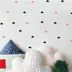 Cute Little Cloud Wall Decal Wall Stickers Diy Home Decoration Wall Art Wall Decal Decoration For Girls Baby Room *** Read more at the image link. #HomeDecor