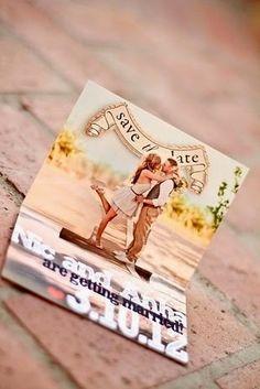 DIY: Stationary Inspiration-save the date idea love