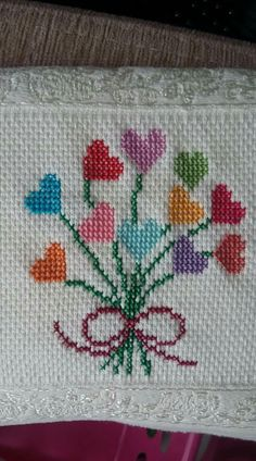 Pin by Tracy McCutchen on cross stitch Butterfly Cross Stitch, Cross Stitch Borders, Cross Stitch Baby, Modern Cross Stitch, Cross Stitch Designs, Cross Stitching, Cross Stitch Embroidery, Cross Stitch Patterns, Baby Embroidery