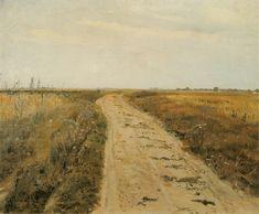 Józef Chełmoński - Droga w polu