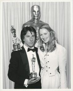 "Meryl Streep and Dustin Hoffman both won Oscars for their roles in ""Kramer vs. Kramer"" at the 52nd Academy Awards - 1980"
