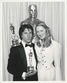 "Meryl Streep and Dustin Hoffman both won Oscars for their roles in ""Kramer vs. Kramer"" at the 52nd Academy Awards - 1980"