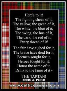 Scottish And Proud ~ Alba Gu Bràth