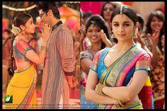 Alia Bhatt Yellow Bollywood Replica Saree