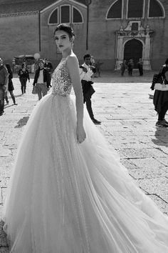 I can't get over how beautiful this collection of wedding dresses is - Inbal Dror 2015 Bridal Collection