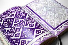 AHA - great design book inspired by traditional slovak ornaments - from Tomáš Kompaník