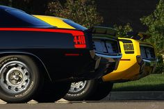 Unbeatable Dynamic Duo - 1970 Plymouth Cuda's HEMI & 440