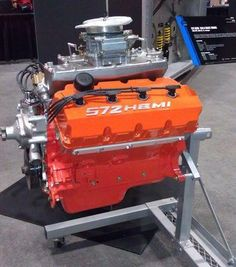 HEMI. I 'd love dropping this in my ram