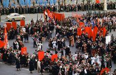 Социалистический праздник на Манежной площади