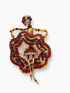 John Rubel - Renowned Franco-American high jewelry brand founded in A hundred years of history. Pear Shaped Diamond, Rose Cut Diamond, Famous Dancers, Creation Art, Pretty Ballerinas, Tiny Dancer, Art Deco Diamond, Jewelry Branding, Costume Jewelry